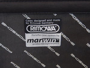 RIMOWA x PORSCHE Topas Multiwheel Trolley Travel Case MINT CONDITION Made in Germany