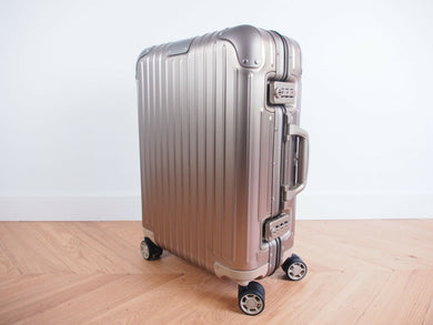 RIMOWA ORIGINAL Cabin S Multiwheel TITANIUM 92552034 NEW 2020 Made in GERMANY