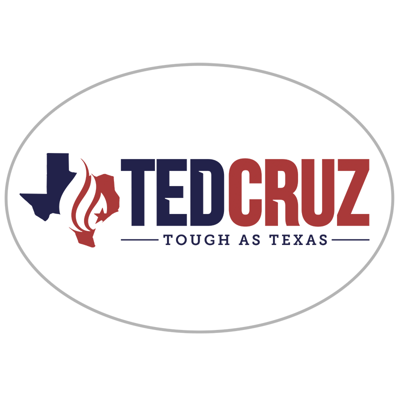 Tough as Texas Sticker - Ted Cruz - Tough as Texas