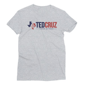 Women's Tough as TexasShort Sleeve T-Shirt - Ted Cruz - Tough as Texas