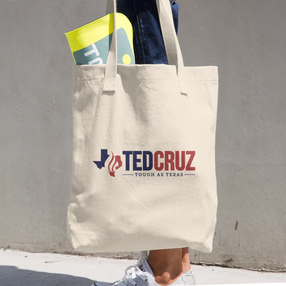 Tough as Texas Cotton Tote Bag - Ted Cruz - Tough as Texas