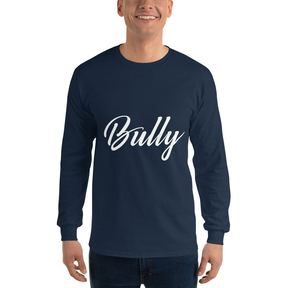 Signature Bully Long Sleeve WHT - Barloue