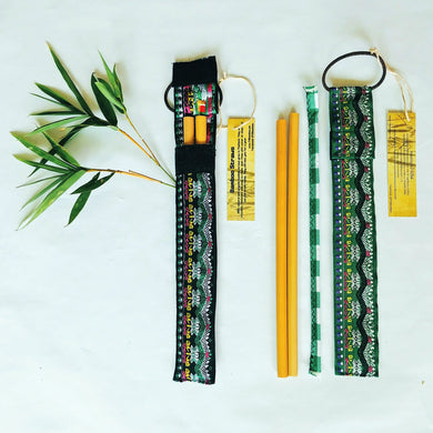 Bamboo Straws double package + 1 straws