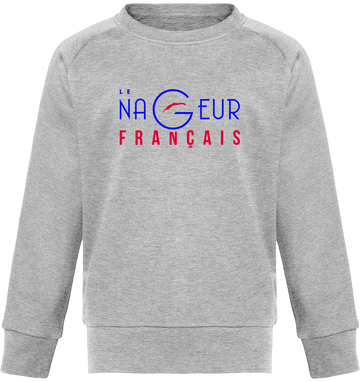 "Sweat col rond enfant ""logo couleur officiel"""