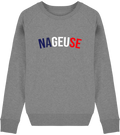 "Sweat Femme col rond ""nageuse"""
