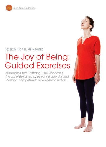 The Joy of Being; Guided Exercises, Session 4