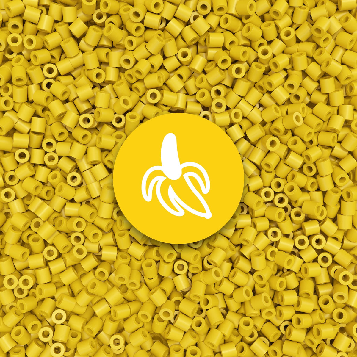 Banana yellow<br/>beads #03