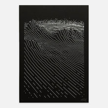 Load image into Gallery viewer, dune — Pen Plotter Print (A4)