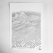 Load image into Gallery viewer, dune — Limited Edition Screen Print (A3)