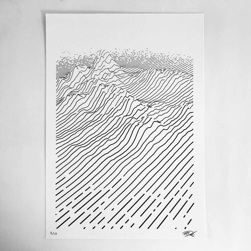 dune — Limited Edition Screen Print (A3)