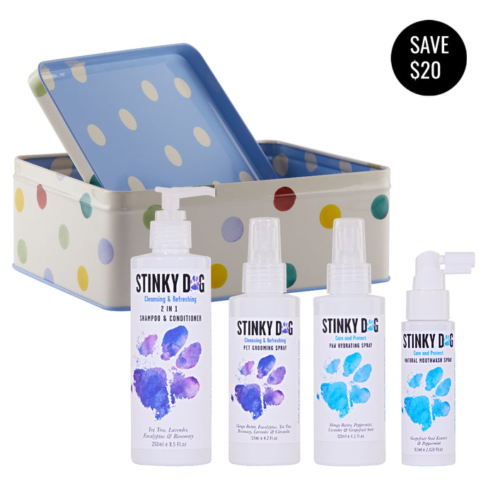LIMITED EDITION Stinky Dog Starter Pack - Cleansing & Refreshing Collection MINI (incl. FREE standard shipping in Australia)