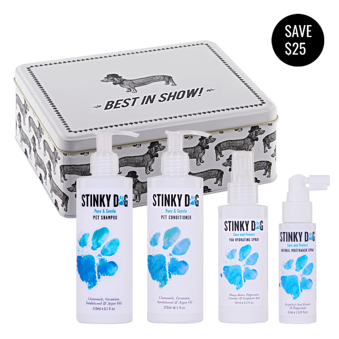 LIMITED EDITION Stinky Dog Starter Pack - Pure & Gentle Collection MINI (incl. FREE standard shipping in Australia)