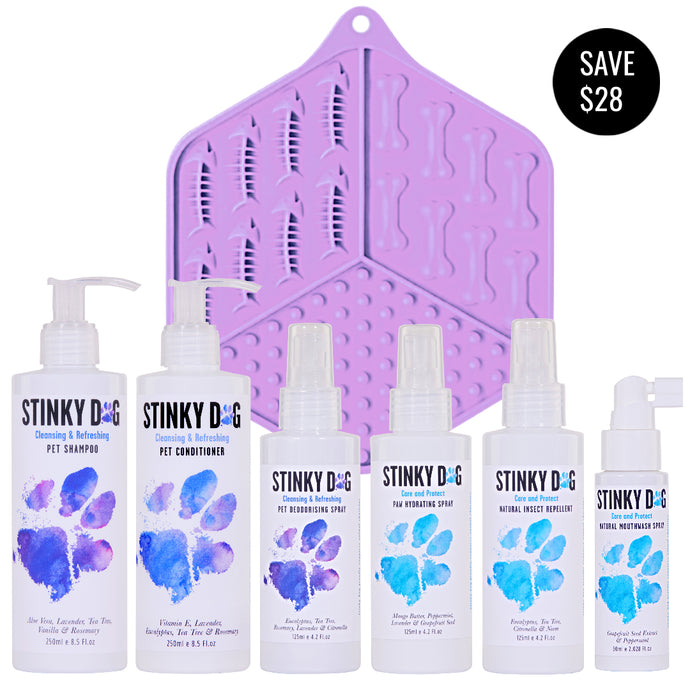 LIMITED EDITION Stinky Dog Starter Pack - Cleansing & Refreshing Collection (incl. FREE standard shipping in Australia)