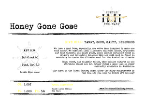 Honey Gone Gose