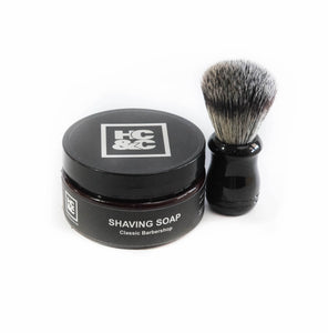 Soap & Shave Brush
