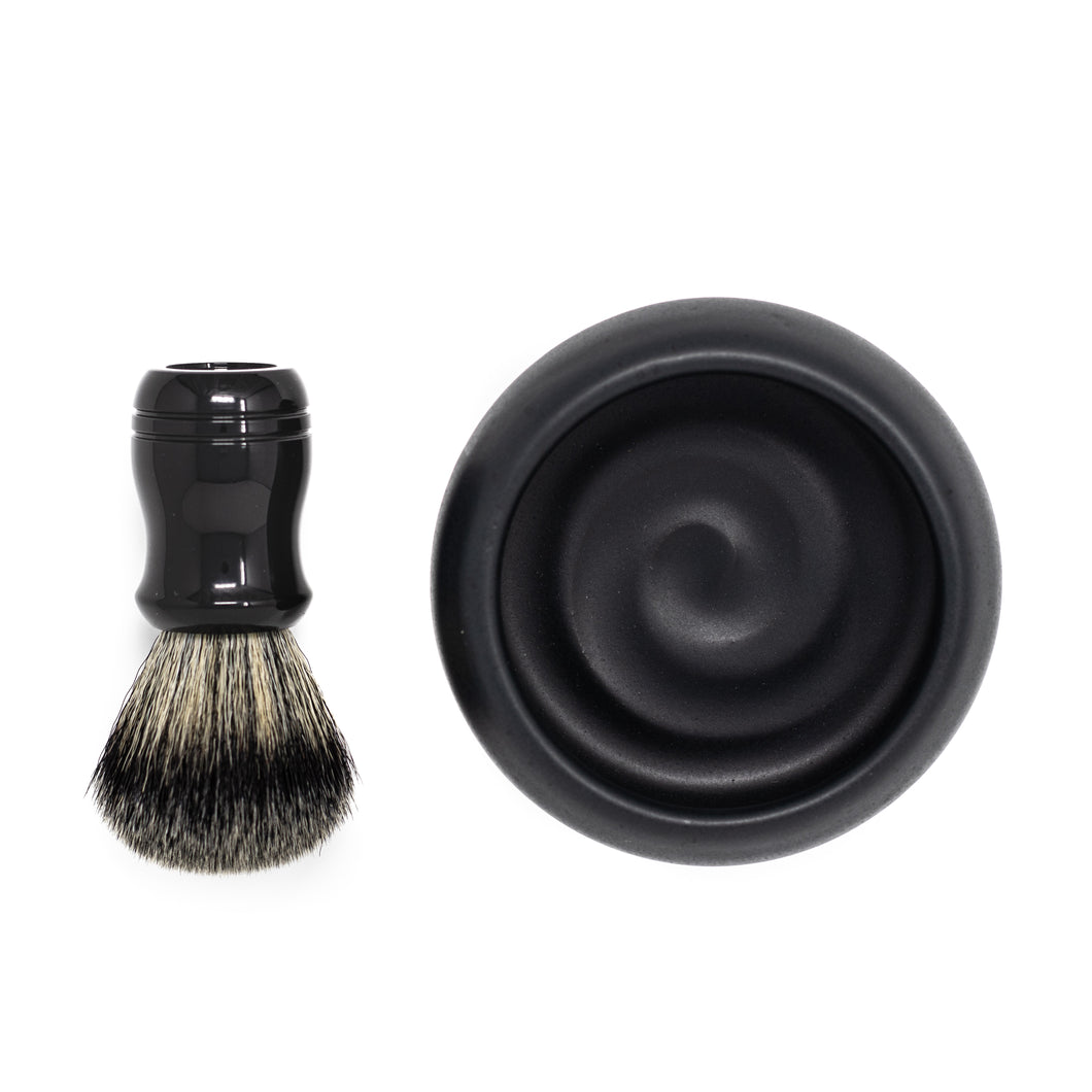 HC&C Shave Bowl and Brush