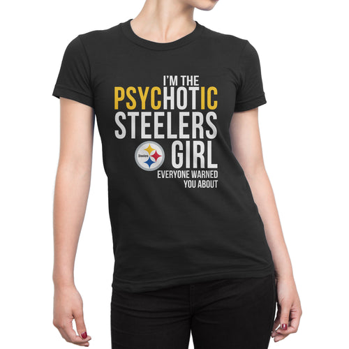PsyHOTic Pittsburgh Steelers T-Shirt (Women)