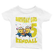 Load image into Gallery viewer, Minions Birthday Shirt for Kids [Cuztom] - Cuztom Threadz