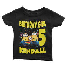 Load image into Gallery viewer, Minions Birthday Shirt for Kids [Cuztom]
