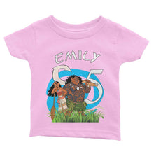 Load image into Gallery viewer, Moana Birthday Shirt for Kids [Cuztom]