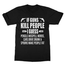 Load image into Gallery viewer, Funny Gun Rights T-Shirt (Men)