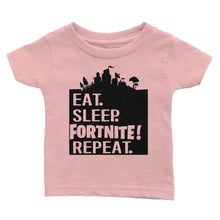 Load image into Gallery viewer, Eat Sleep Repeat Fortnite T-Shirt (Youth)