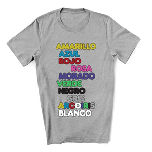 Colores Tracklist T-Shirt For The J Balvin Fan