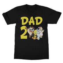 Load image into Gallery viewer, Personalized Baby Looney Tunes Birthday Shirt