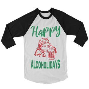 Christmas Shirt - Happy Alcholidays (Unisex)