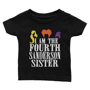 Hocus Pocus I Am The Fourth Sanderson Sister Halloween Shirt Kids