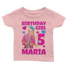 Load image into Gallery viewer, Personalize Jojo Siwa Birthday Shirt