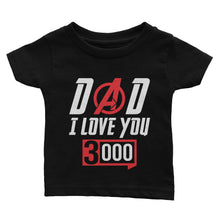 Load image into Gallery viewer, Love You 3000 Father's Day T-Shirt (Youth)