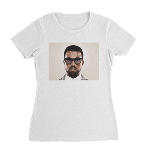 Pop Art Kanye West T-Shirt (Women)