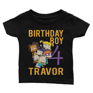 Personalize Rugrats Birthday Shirt