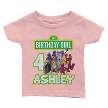 Load image into Gallery viewer, Personalize Sesame Street Birthday T-Shirt
