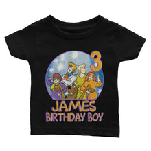 Load image into Gallery viewer, Custom Scooby Doo Birthday Shirt
