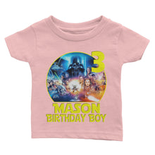 Load image into Gallery viewer, Custom Star Wars Birthday Shirt