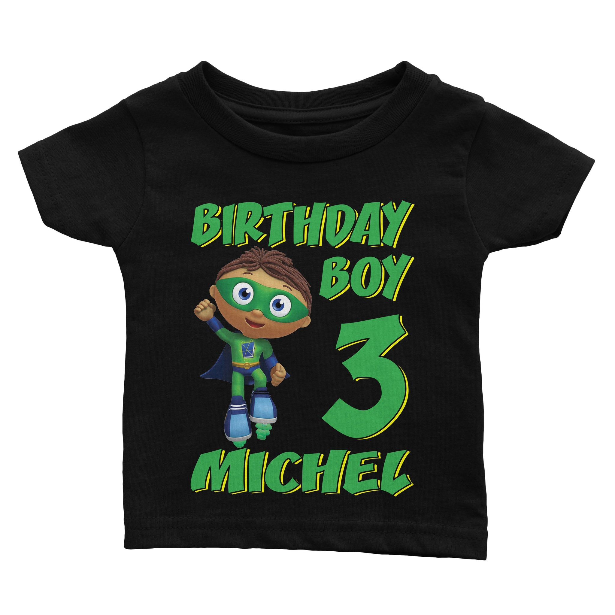 Super Why Wyatt Birthday Shirt T Shirts Tshirt Custom Tee Personalized Family