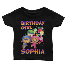 Load image into Gallery viewer, Personalize Umizoomi Birthday Shirt