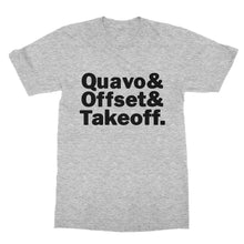 Load image into Gallery viewer, Quevo Offset Takeoff Migos T-Shirt (Men)