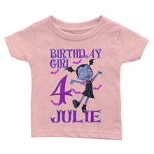 Load image into Gallery viewer, Personalize Vampirina Birthday Shirt