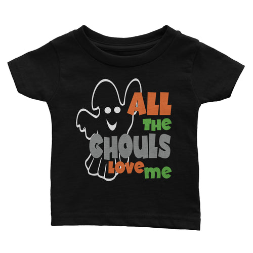 All The Ghouls Love Me Halloween Shirt (Youth)
