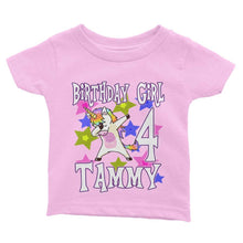 Load image into Gallery viewer, Unicorn Birthday Shirt for Kids [Cuztom] - Cuztom Threadz