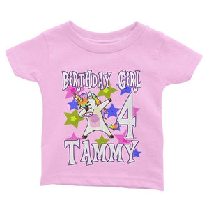 Unicorn Birthday Shirt for Kids [Cuztom] - Cuztom Threadz
