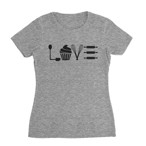 Bake With Love Bake Shirt (Woman)