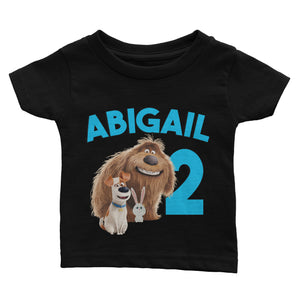 Personalized Secret Life of Pets Birthday Shirt