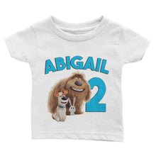Load image into Gallery viewer, Personalized Secret Life of Pets Birthday Shirt