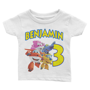 Personalized Super Wing Birthday Shirt