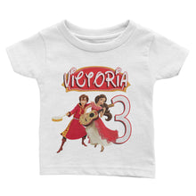 Load image into Gallery viewer, Personalized Elena of Avalor Birthday Shirt