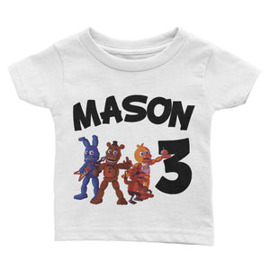 Personalized Five Nights Of Freddy Birthday Shirt